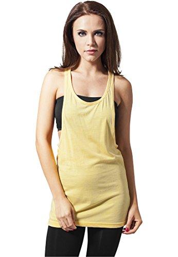 Urban Classics - T-Shirt De Sport Femme Jaune - Jaune