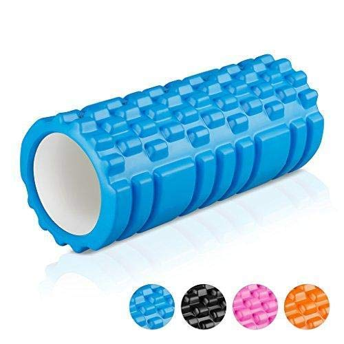 ABTRIX WITH AB Foam Roller Massager for Sports Tissue Massage Gym Exercise/Yoga/Trigger Point,Cross FIT/Pilates/Weight Training and Physico Injury- 33cm