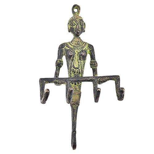 Tribal Hook dea serpente di bronzo Tribal Serpent Goddess Bronze Hook