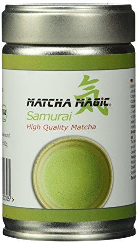 MatchaMagic BIO SAMURAI High Quality Dose, 1er Pack (1 x 80 g)