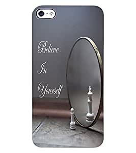 ColourCraft Inspirational Quote Design Back Case Cover for APPLE IPHONE 4S