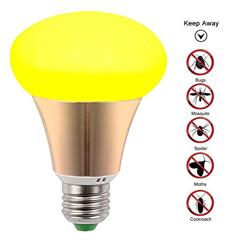 LED Mosquito Repellent Bug Glühbirne , Nicht UV Keine Strahlung , 2-Modus Mosquito Control / Beleuchtung - Moskito Insekten Fliegen Fliegen Spinnen Repeller Repellent Home Warm-9W (110-240V) E27