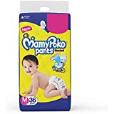 Mamypoko Pants Standard Diapers, Medium (Pack Of 36)