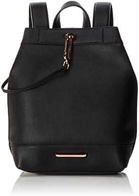 Calvin Klein HEATH3R Backpack, Bolsa para Mujer, Negro (Black), 15x35x34 cm (b x h x t)