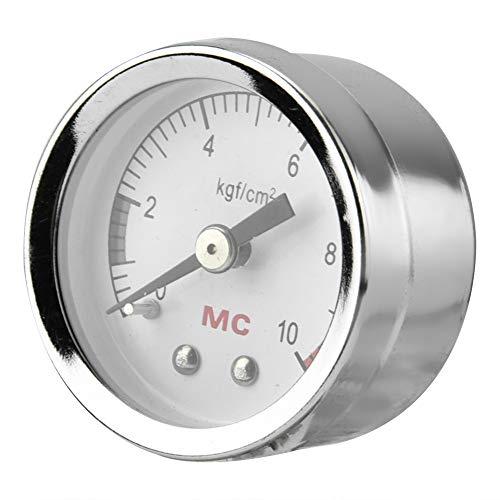 Pssopp Aquarium CO2 Manometer Aquarium Kohlendioxid Luft Manometer Zifferblatt CO2 Manometer CO2 Luft Manometer DIY Home Luftdruck Tabelle