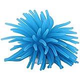 SRI Decorative Unique Flexible Non-Toxic Realistic Silicon Aquarium Fish Tank Coral Ornament Decoration For Home/Living Room/Office (BLUE)