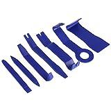 Yosoo Lot de 7 Kit de Outils Démontage en Plastique Installation Réparation de Voiture Auto Interieur pour Audio Garniture Tableau de Bord Panneau de Porte