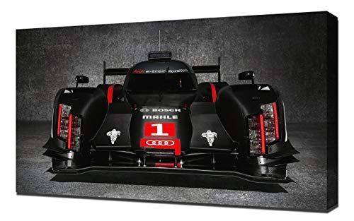 2014-Audi-R18-E-Tron-Quattro-LMP1-V2-1080 - Stampa Artistica su Tela - Stampa Tela Canvas