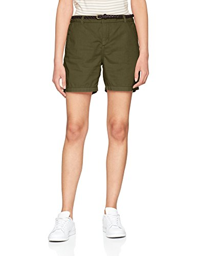 VERO MODA Damen Vmflame NW Chino Shorts Noos, Grün (Kalamata Kalamata), 34 (Herstellergröße: XS)