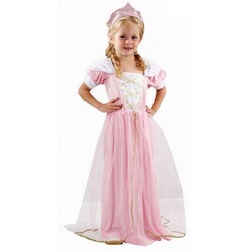 Mädchen Hübscher Rosa Feenprinzessin Buch Tag Woche Verkleidung Kleid Kostüm Outfit 3 ()