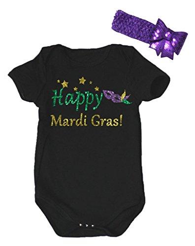 Petitebelle Baby Mädchen (0-24 Monate) Body schwarz schwarz Gr. 0-3 Monate, schwarz