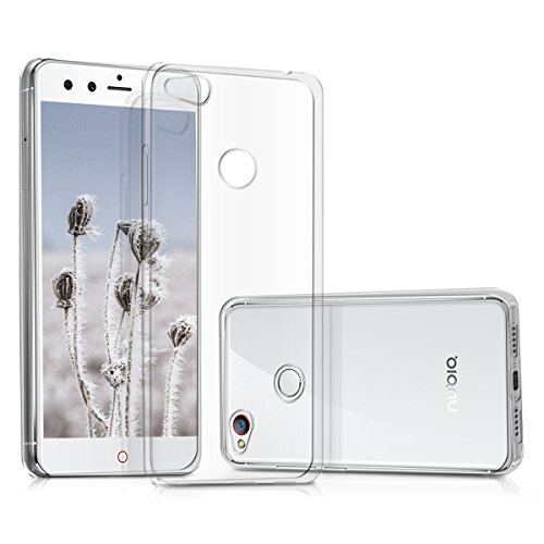 kwmobile Hülle für ZTE Nubia Z11 mini - TPU Silikon Backcover Case Handy Schutzhülle - Cover klar Transparent