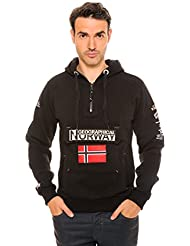 Geographical Norway-Chaqueta de Geographical Norway Gymclass, color negro