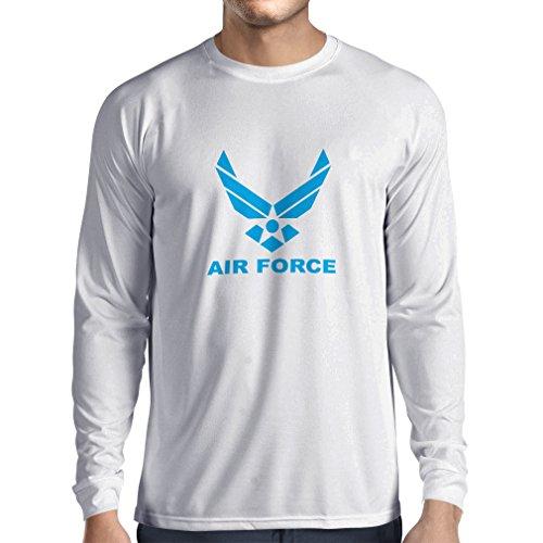 Herren Ranger Park Kostüm - lepni.me Herren T Shirts United States Air Force (USAF) - U. S. Army, USA Armed Forces (Large Weiß Blau)