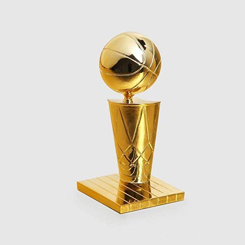 Kanadische Raptors NBA Champions Trophy Beschichtung Golden Globe Award Trophy NBA Championship Trophy, Replik, Harz, Basketball Trophy, Basketball Fan Geschenke,6.3in -