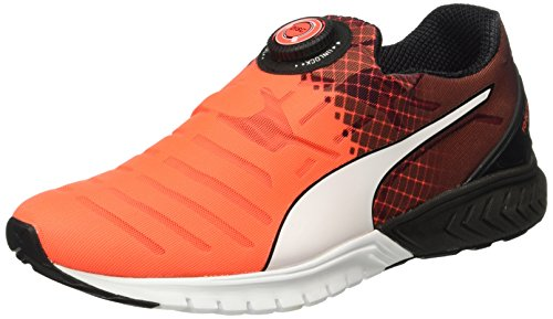 Puma Ignite Dual Disc, Chaussures de Running Compétition Homme Rouge (Red/Black/White 01)