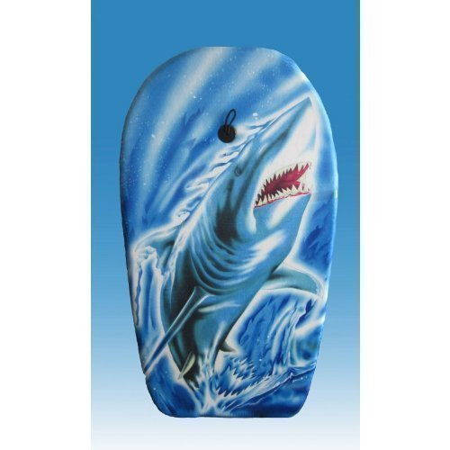 Lively Moments Bodyboard Shark ca. 94 cm Shark Attack