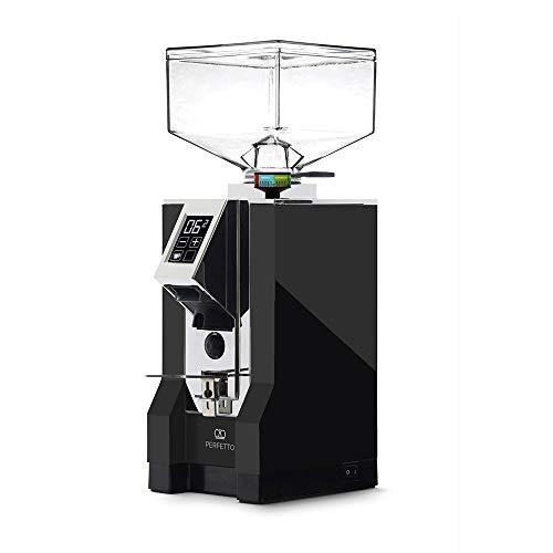 Eureka | Mignon Perfetto Espressomühle | Grind-on-Demand Kaffeemühle | Matt Schwarz