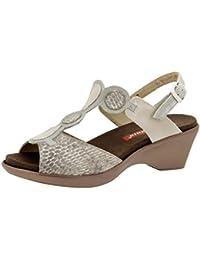 Calzado Mujer Confort de Piel Piesanto 6804 Sandalia Plantilla Extraíble Zapato Cómodo Ancho Barato Venta New Arrival Sitios web de envío gratuito Muy barato para la venta Dónde comprar bajo precio WJK8qhwUqH