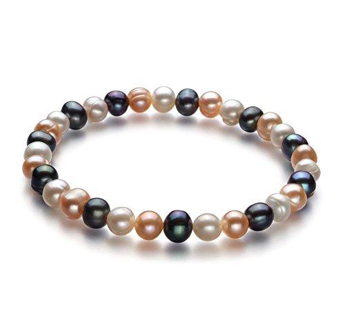 bonheur-multicolore-6-7mm-a-qualite-perles-deau-douce-bracelet-de-perles-22-cm