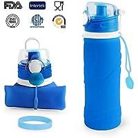 Zusammenklappbare Trinkwasser-Flasche, Faltbare Sport Wasserflasche,ARMPHEN Silikon-zusammenklappbares Sport-Wasser... preisvergleich bei billige-tabletten.eu