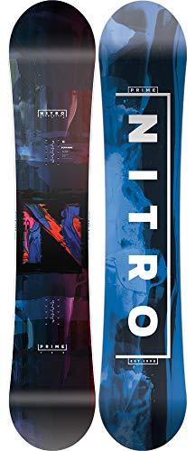 Nitro Snowboards Herren PRIME OVERLAY WIDE '20 Brd All Mountain Beginner Wide Board für große Füße