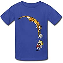 Kid's Hot Topic Calvin And Hobbes T-shirts XXXX-L
