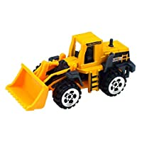 yuangong New Released Multiple Style Mini Engineering Car Tractor Toy Model Classic Toy Alloy Car Children Toy Engineering Vehicle Roller Compactor Truck Model