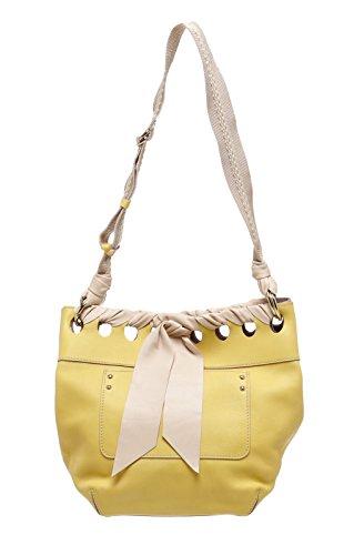 nina-ricci-yellow-and-nude-leather-looped-bow-tote-handbag