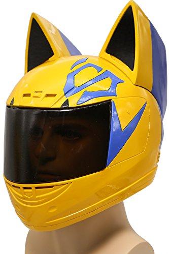 Anime Halloween Helm Cosplay Kostüm Erwachsene Deluxe Soft Resin Full Kopf Maske Fancy Dress Merchandise (Celty Cosplay Kostüm)
