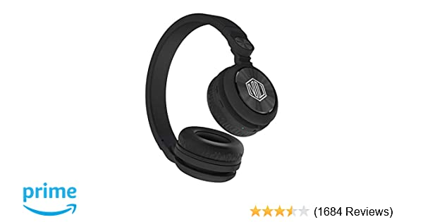 181f5df6bd49 Nu Republic Starboy X-Bass Wireless Headphone with mic (Black)