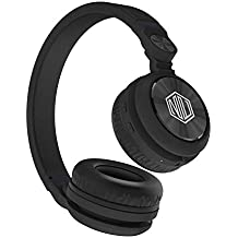 Nu Republic Starboy X-Bass Wireless Headphone with mic (Black)