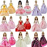 5 Ball Gowns, clothes Princess Dresses for Barbie sized dolls (Not Mattel) by Fat-catz-copy-catz