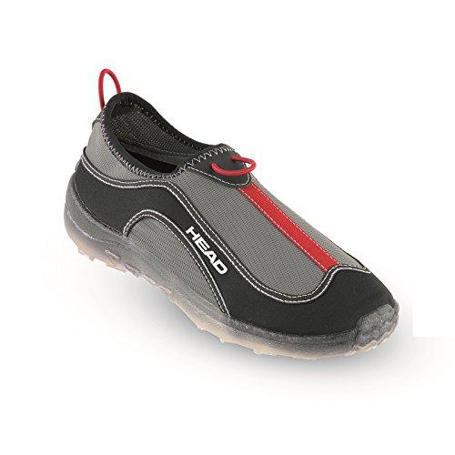 Head - Aquashoes Aquatrainer, Infradito Unisex – Adulto Nero / Rosso (BKRD)