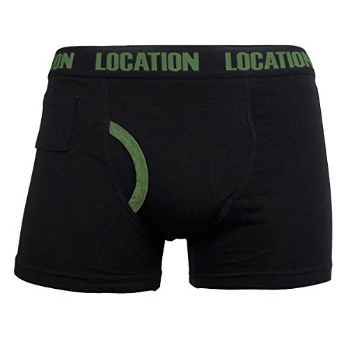 12er Pack Herren Location Boxershorts Geschenk Unterwäsche Neuheit Baumwolle Unterhose Formation2 (12er pack)
