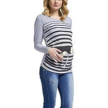 Fuga de bebé - Camiseta premamá Sudadera con Estampado Durante el Embarazo, ...