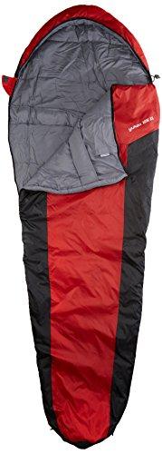10T Yukon 125XL Camping Schlafsack bis -3°C Outdoor Mumienschlafsack 230x85cm Hüttenschlafsack mit 1400g Trekking Reiseschlafsack für 3 / 4 Jahreszeiten Frühling Sommer Herbst