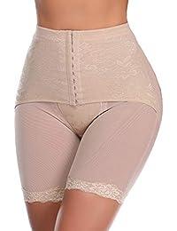 72b7d983bac7 SLIMBELLE Donna Modellante Vita Alta Guaina Intimo Shapewear Mutande  Contenitiva Slip Contenitive Pancia Pancera da Dimagrante