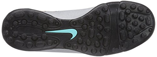 Nike Mercurial Vortex Ii Cr Tf, Chaussures de Football Compétition Homme Grau (Mtllc Silver/Blk-Hypr Trq-Blk)