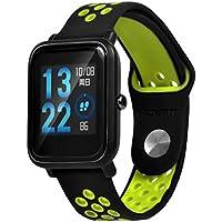 ☀️Modaworld Pulsera Ligera Muñequera Wristband Correa de Reloj Pulsera de Repuesto para Xiaomi Amazfit Bip Youth Watch Banda de Reloj smartwatch (Verde, para xiaomi huami amazfit bip Youth)