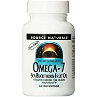 Acides gras essentiels Omega 7 (30 softgels) lot 2 + 1 gratuit