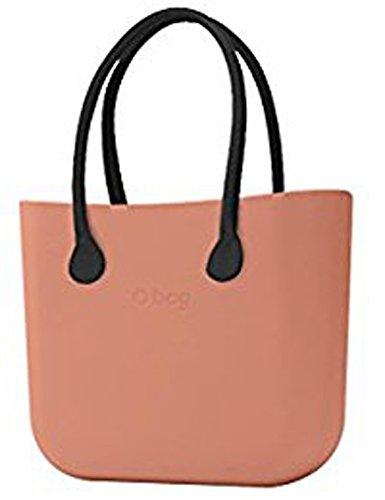 O bag borsa grande rosa phard con manici lunghi e sacca