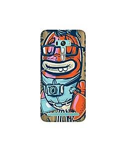 Kolor Edge Printed Back Cover for Asus Zenfone Selfie - Multicolor (4400-Ke11011ZenSelfieSub)