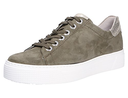 Semler Ladies Alexa Sneaker Green (reed-platinum)