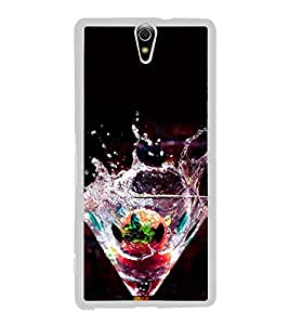 Cocktail Mocktail 2D Hard Polycarbonate Designer Back Case Cover for Sony Xperia C5 Ultra Dual :: Sony Xperia C5 E5533 E5563