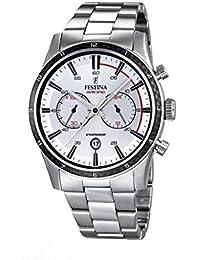 Festina Herren-Armbanduhr XL Chronograph Quarz Edelstahl F16818/1