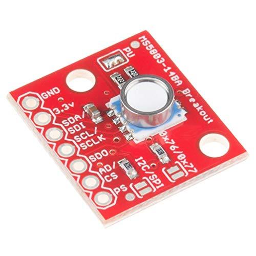 RoadRoma Gy-Ms5803-14Ba Modulo di Rottura sensore di Pressione del Gas Liquido Fluido per Arduino
