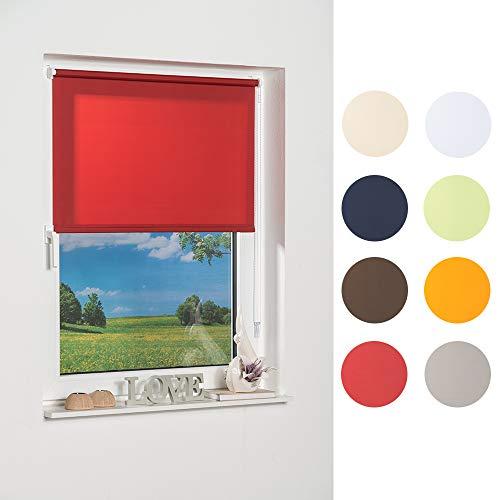 K de Home 236626–2Klemmfix–Estor de Mini, Rojo Luz de día, plástico, Tela, Rojo, 50 x 150