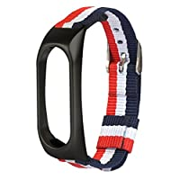 ❤️Xinan Banda de repuesto ajustable de nylon ligero Correa deportiva Para XIAOMI MI Band 2 de Xinxinshidai