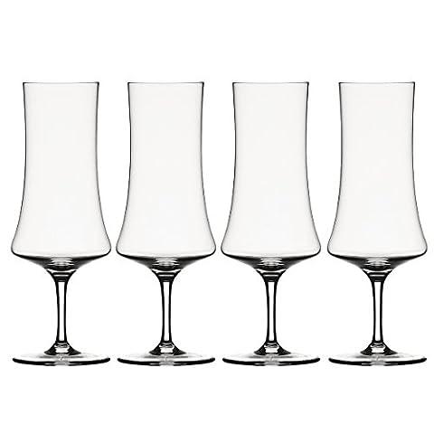 Spiegelau & Nachtmann, 4-teiliges Biertulpen-Set, Kristallglas, 350 ml, 1416174, Willsberger